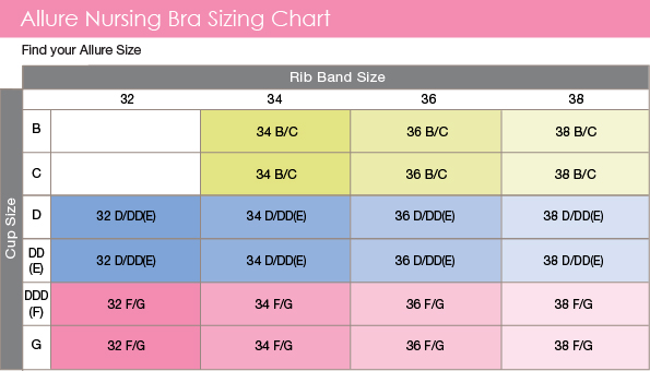 Though the average bra size is a 36C, most females who wear this size should actually be wearing either a 34D, 34DD, 32DD or 32E bra. The TRUE average bra size is around 34DD. Also know that cup sizes relate directly to band size.